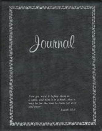 Standard Vinyl Charcoal Journal Deseret Book