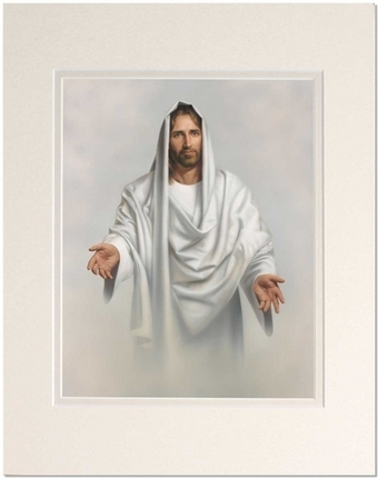 Abide With Me (16x20 Matted Print) - Deseret Book