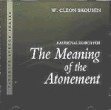 The meaning of the atonement