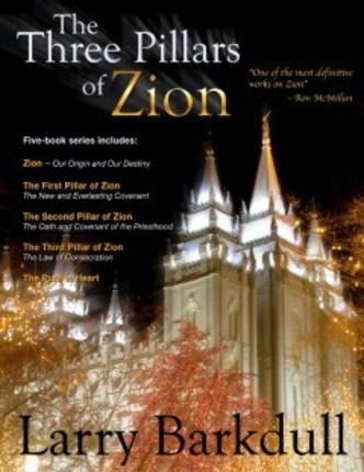 Three pillars of zion book cover