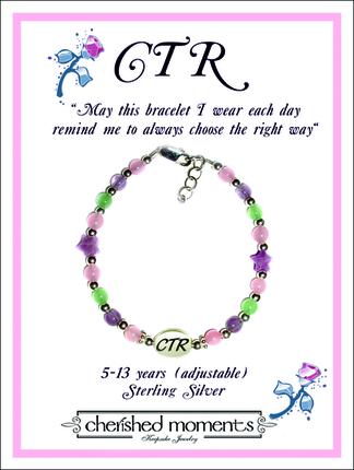 CTR Bracelet (Lavender Stars)