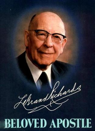 Original legrand richards beloved apostle
