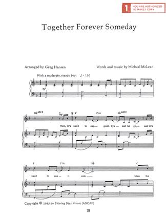 Together Forever Someday Sheet Music Download Deseret Book