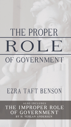 the proper role of government essay What is the proper role of government that the edifice of american government was constructed and it informs every conception of its proper role in civil.
