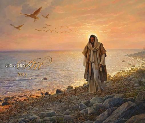 Greg Olsen 2013 Calendar