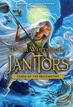 Janitors, Book 3: The Curse of the Broomstaff