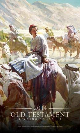 2014 Old Testament Reading Schedule Bookmark