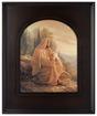 Alpha and Omega (30x25 Framed Print)