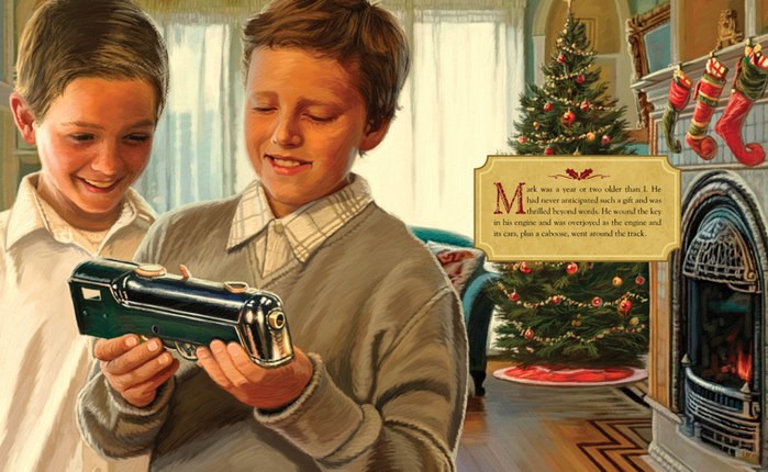 the christmas train - The Christmas Train