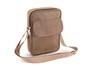 Brown Pebbled Shoulder Bag