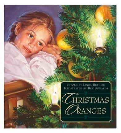 Christmas oranges booklet