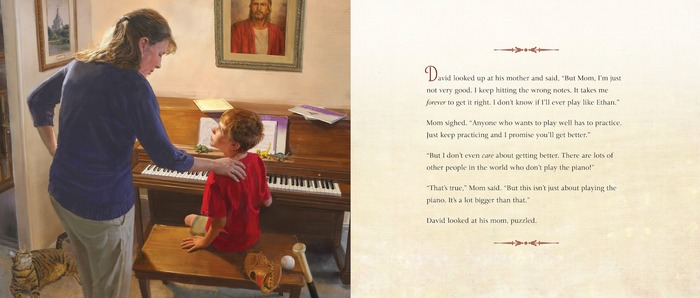 Practicing for Heaven: The Parable of the Piano Lessons