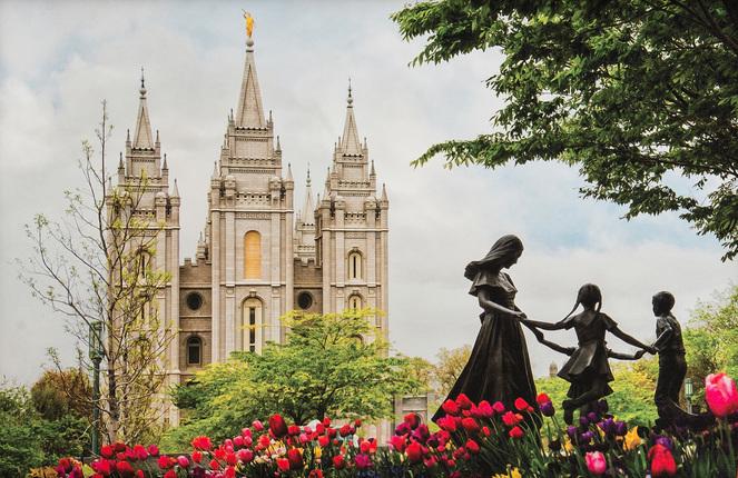 024be8773eb5 Salt Lake Temple Eternal (19x25 Framed Art) - Deseret Book