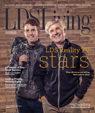 Lds living magazine january 2015