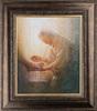The Servant (35x31 Framed Art)