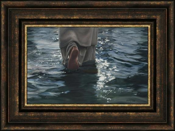 Follow Me (22x29 Framed Art) - Deseret Book