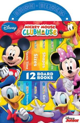 mickey mouse clubhouse my first library deseret book