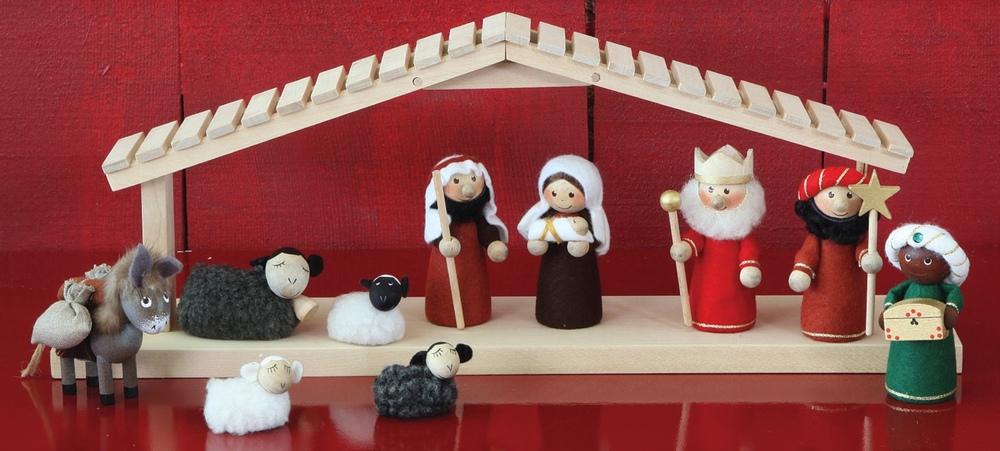 Estonian felt nativity 5158905