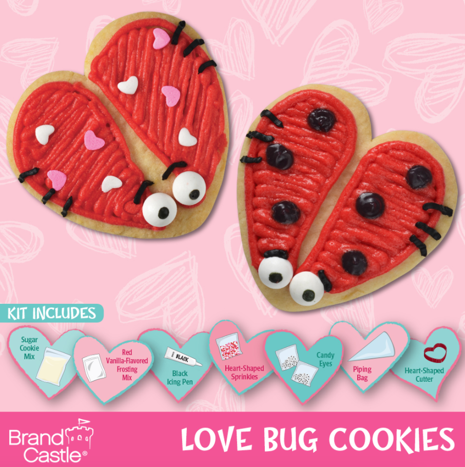 Love bug sugar cookies kit