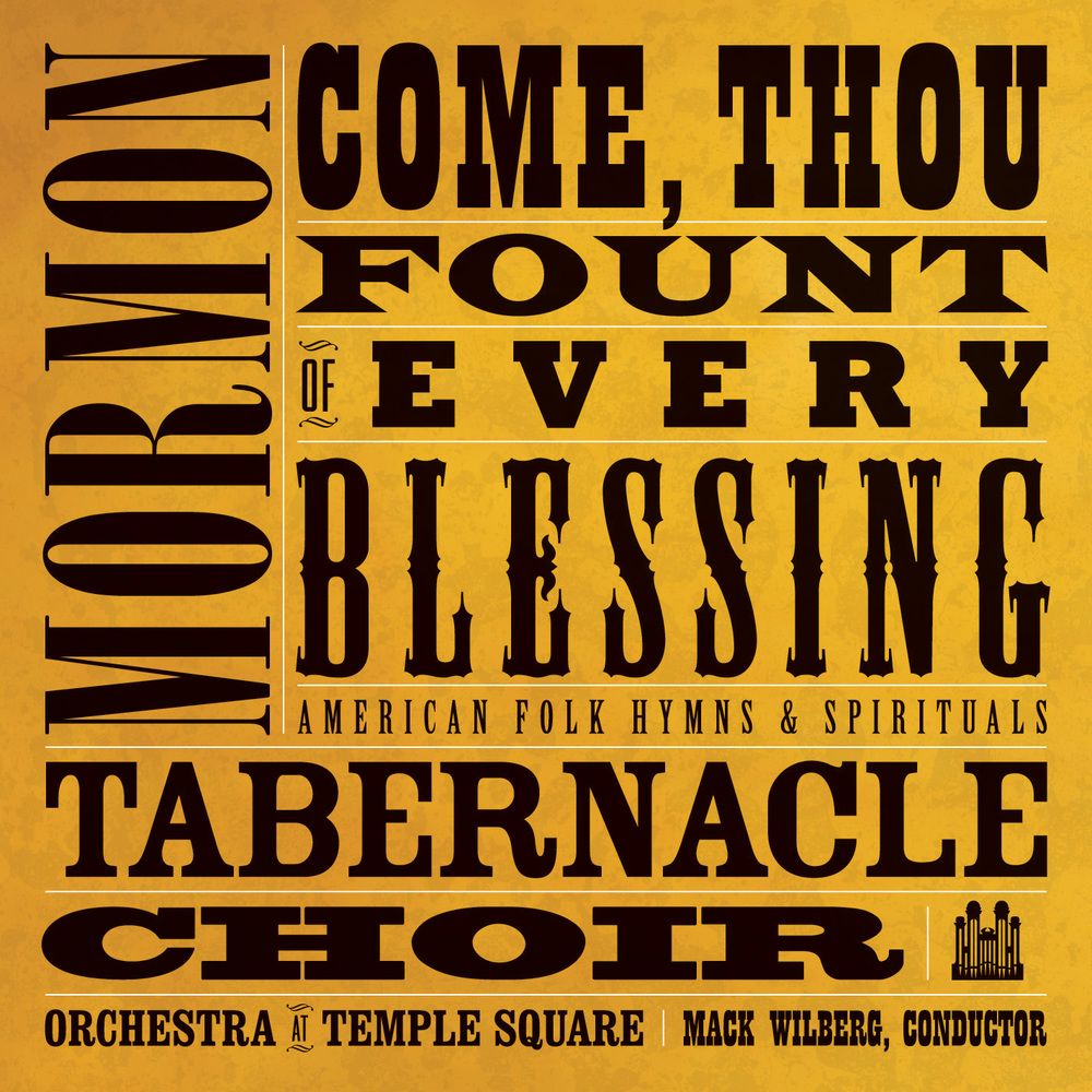 Come thou fount cd.f