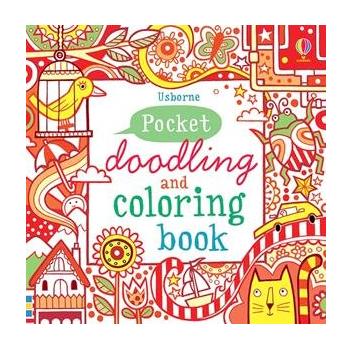 Usborne Pocket Doodling and Coloring Book - Deseret Book