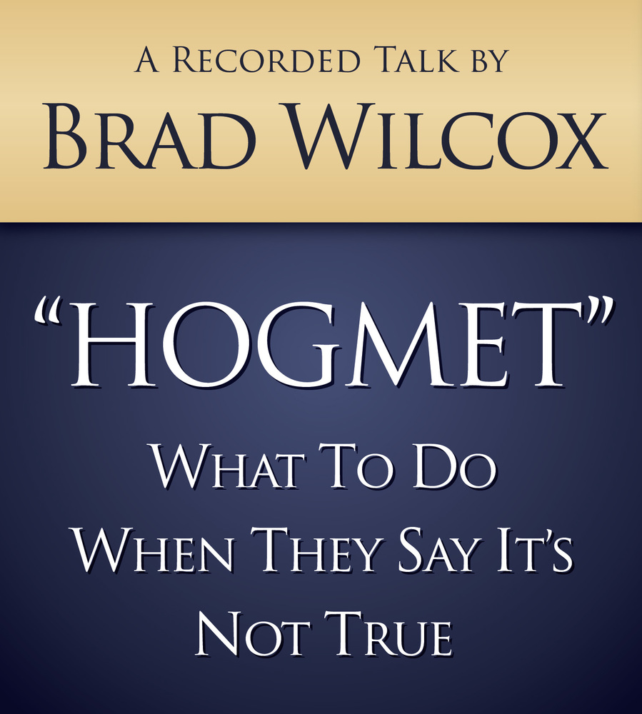 Brad wilcox hogmet