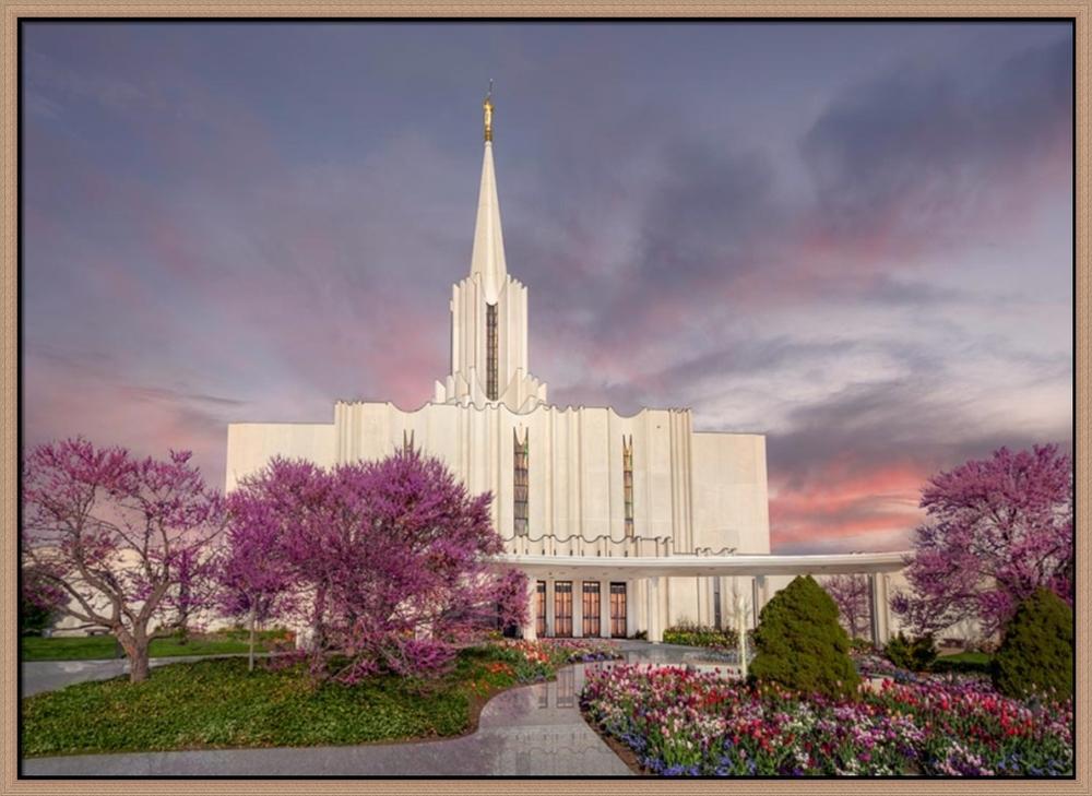 Stunning LDS Temple Art