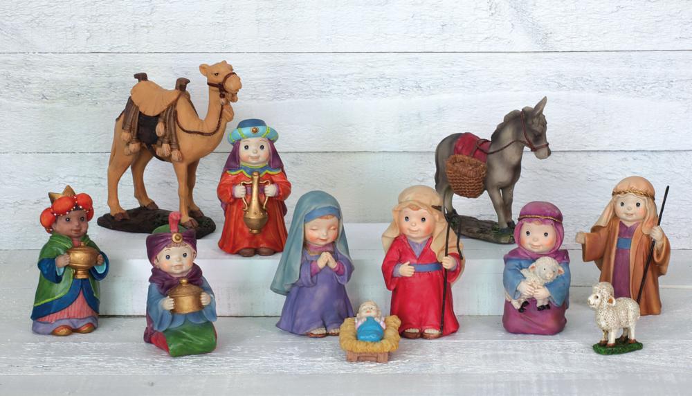 buy popular ea8e3 954d8 Children's Nativity: 11-piece Set - Deseret Book