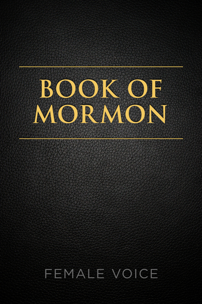 The Official Audio For Book Of Mormon Female Voice