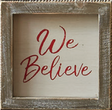 We believe plaque