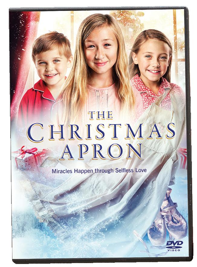 The christmas apron dvd