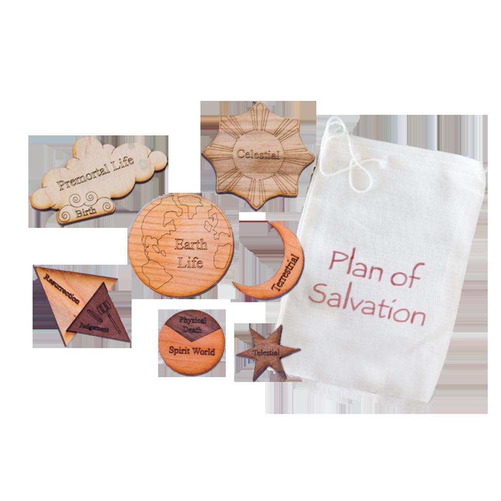 plan of salvation multi wood puzzle kit deseret book