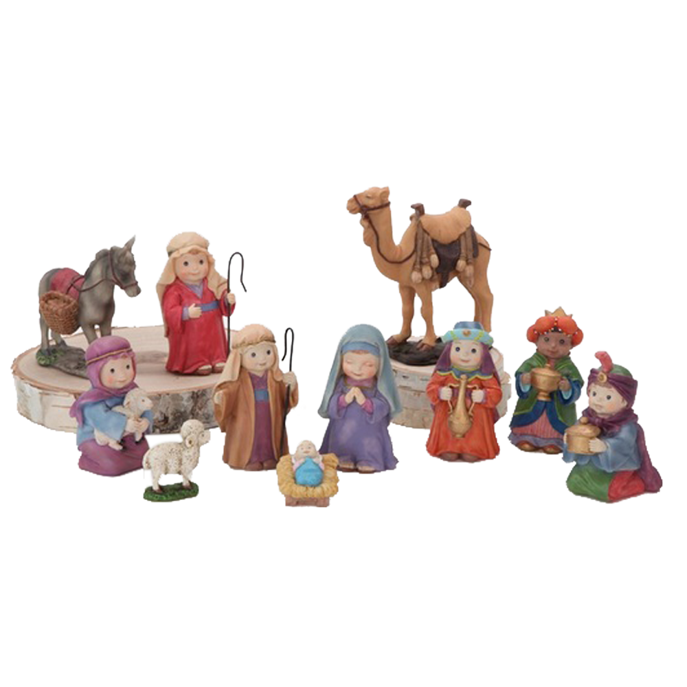 Children's Nativity (11-Piece Set)