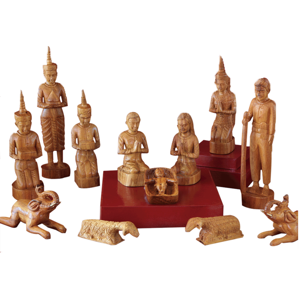 Cambodian Nativity : 12-piece Set - Deseret Book