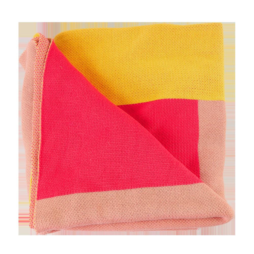Color Block Throw