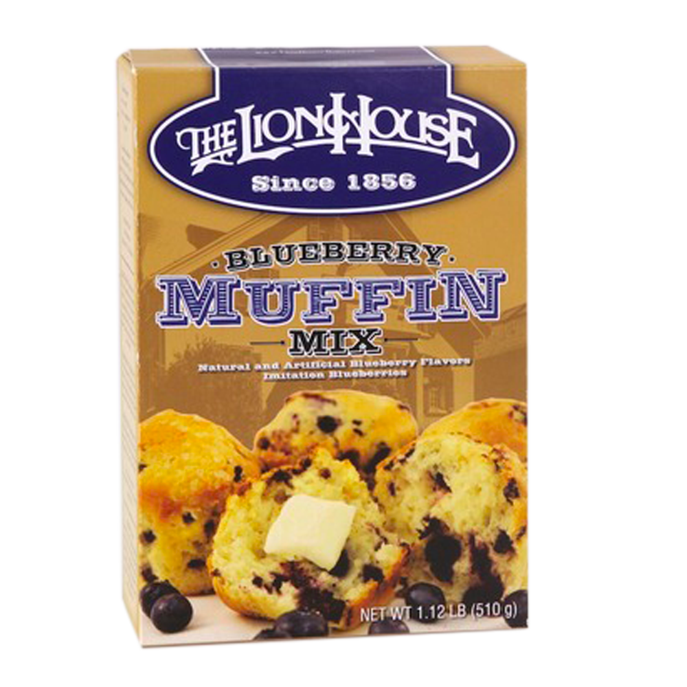 9e23101669 Lion House Blueberry Muffin Mix. by Lion House