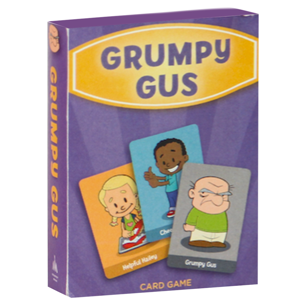Grumpy gus card game