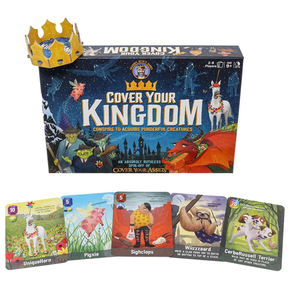 Cover Your Kingdom Card Game