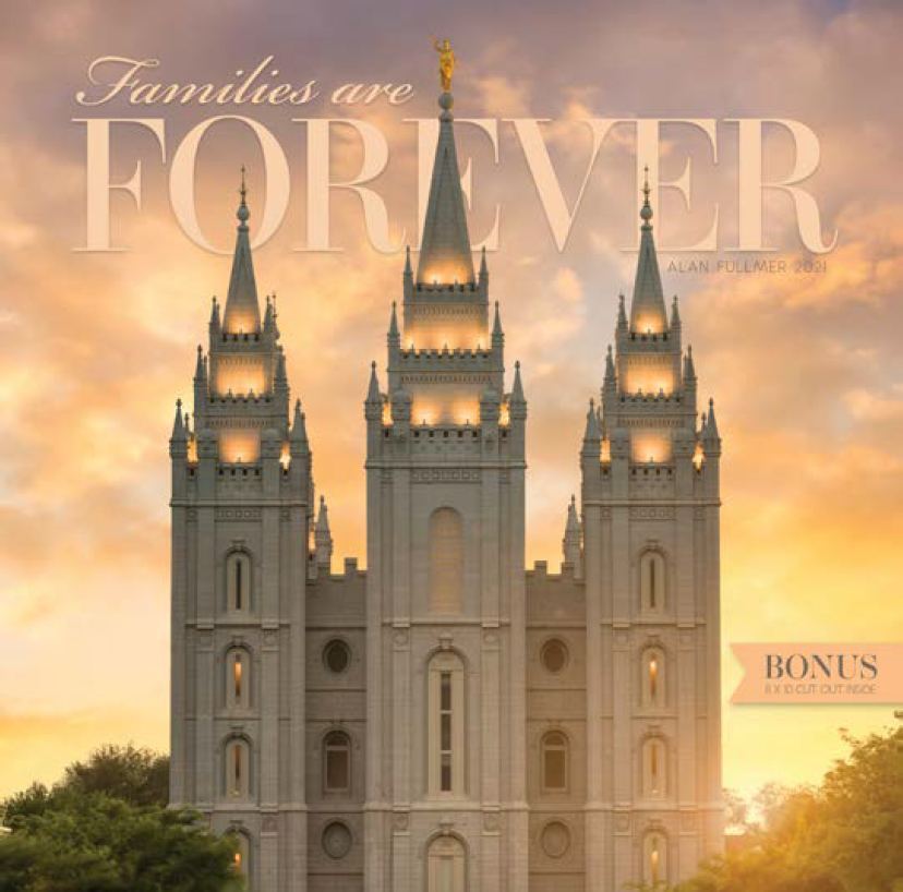 2021 Families are Forever Temple Calendar